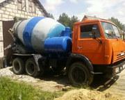 Доставка бетона миксером 6 м. куб.,  бетон с доставкой Могилев и облас