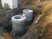 Кольца колодцев,  кольца канализационные,  плиты перекрытия , днища