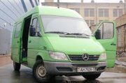 Грузовое такси, грузоперевозки микроавтобусом