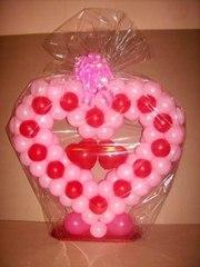 Лучший подарок на 14 февраля любимым - это воздушные шарики!
