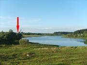 Продам жилой кирпичный дом на берегу озера.
