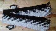 Комплект двойка-девочка шарф , варежки
