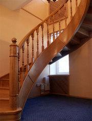 Эксклюзивные лестницы из массива