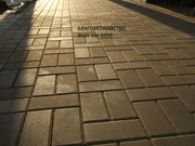 Благоустройство территории: укладка тротуарной плитки,  отмостка