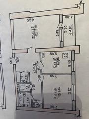 2-х Комнатная квартира в Слониме